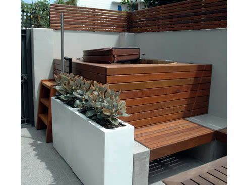 Hot Tub Small Space Cedar Hot Tubs For Limited Space Ukko