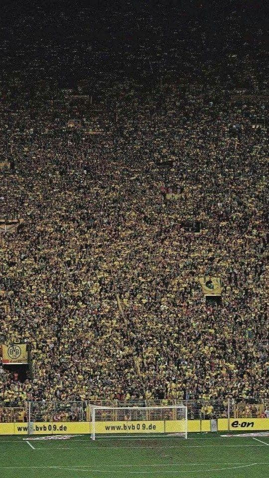 Signal Iduna Park Borussia Dortmund Muralha Amarela Muralha Amarela Borussia Dortmund Dortmund
