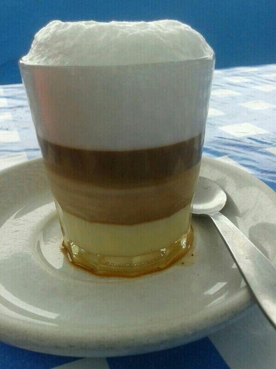 Zaperoco tenerife leche condensada caf leche licor 43 - Espuma de limon ...