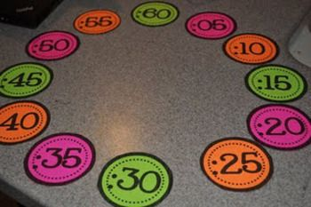 Classroom Organization: FREE: Tpt Clock Numbers... love these; very easy project that helps kids!