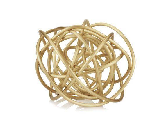 #Brass Knot #Sculpture, $1,495.00. #KellyWearstler #Art