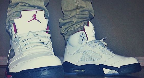 My Fire Red 5's.