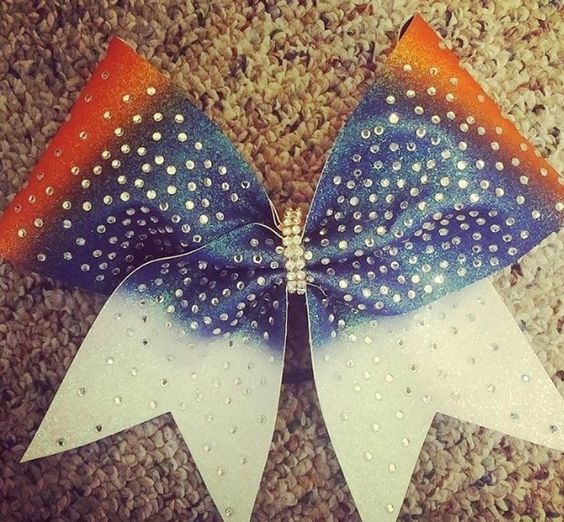 Patriotic Bow by Just Cheer Bows