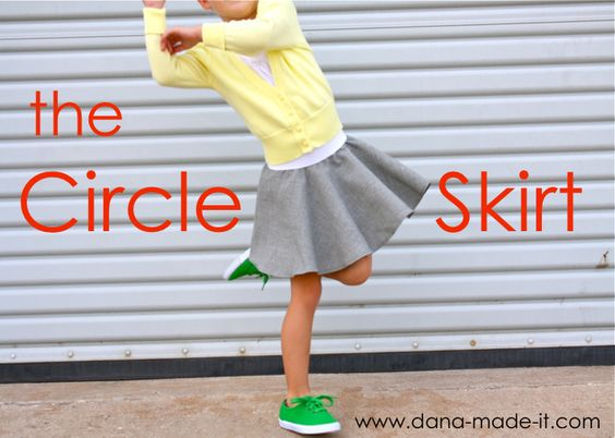 TUTORIAL: the Circle Skirt - you may have to go to dana made it.com rather than follow this link, but with this tutorial, you can whip up a skirt in no time at all. so simple, even for me.