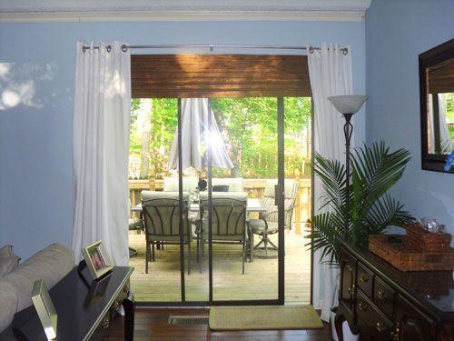 Sliding Gl Door Window Treatments