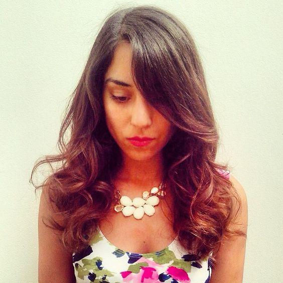\u201cPura luz ✨ este balayage que hizo la @camilaypunto muy sutil en pelo oscuro 👌\u201d