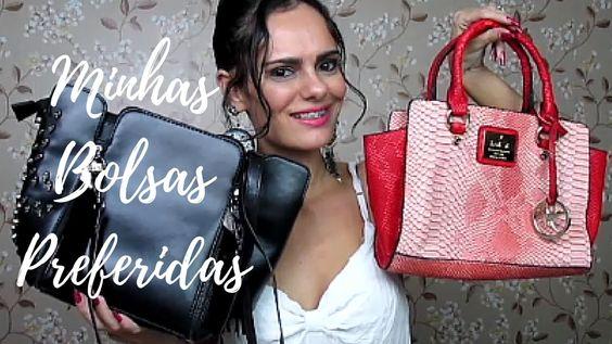 Minhas Bolsas Preferidas | Luciana Queiróz