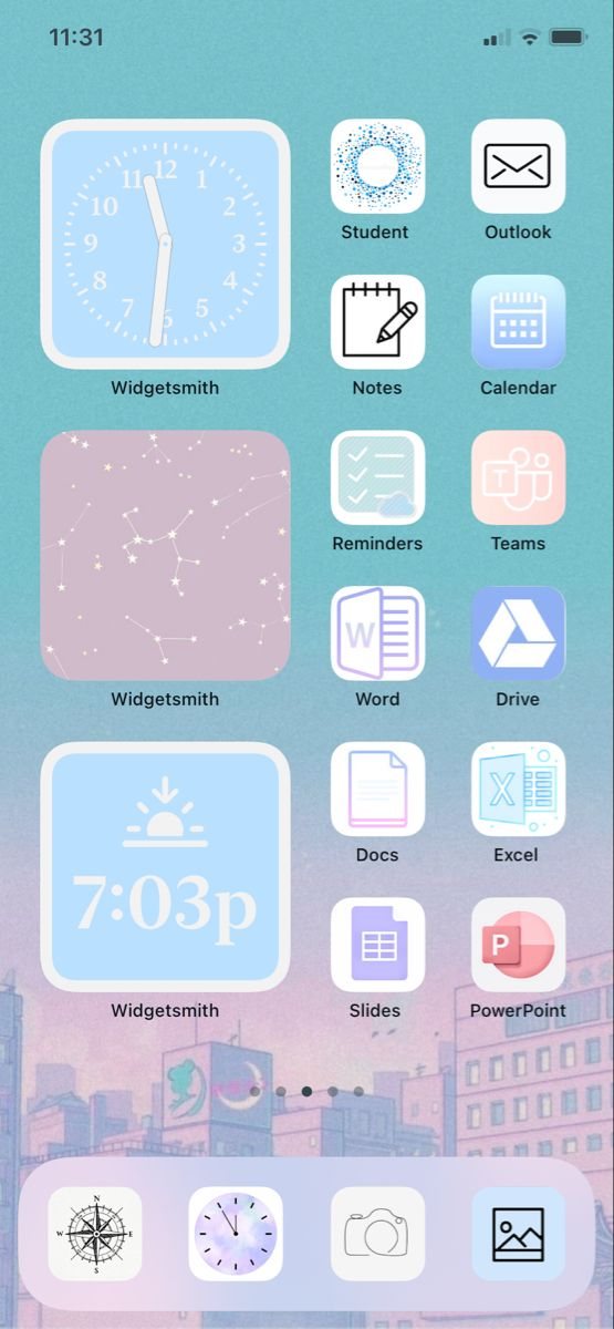 Ios 14 Iphone Pastel Page Iphone Wallpaper App Iphone App Layout Homescreen Iphone