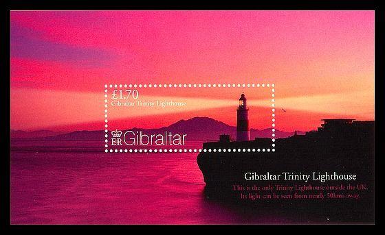 Panoramic Views of Gibraltar Miniature Sheet