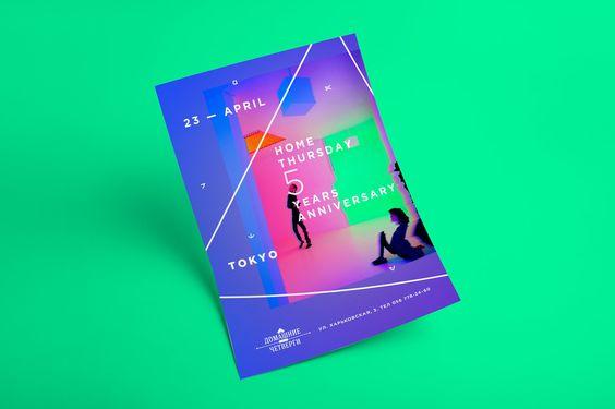 Poster Template for «Home Thursdays» on Behance