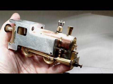 Homemade Locomotive Youtube Live Steam Locomotive