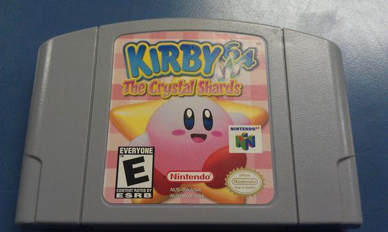 Nintendo 64 - Kirby 64 The Crystal Shards