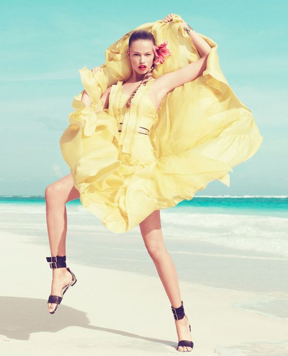 Hailey Clauson for Harper's Bazaar March 2012