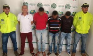 """Mediante allanamientos capturan cuatro presuntos integrantes del """"clan del golfo"""""""