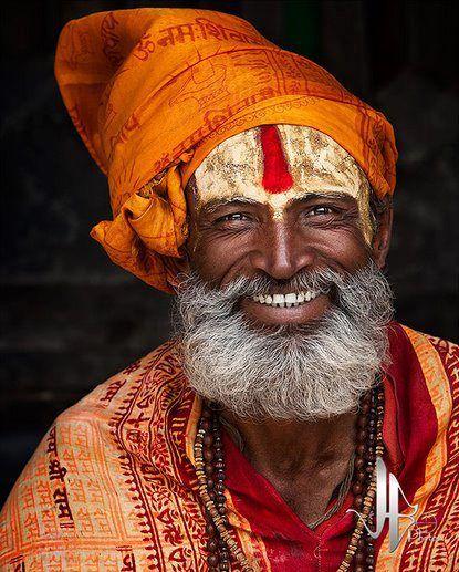 What a wonderful face ☺️  Happy Sâdhu, Karnataka. — #MindBodySpirit. Brought to you by SunGoddess Magazine: Igniting the Powerful Goddess WIthin http://sungoddessmagazine.com
