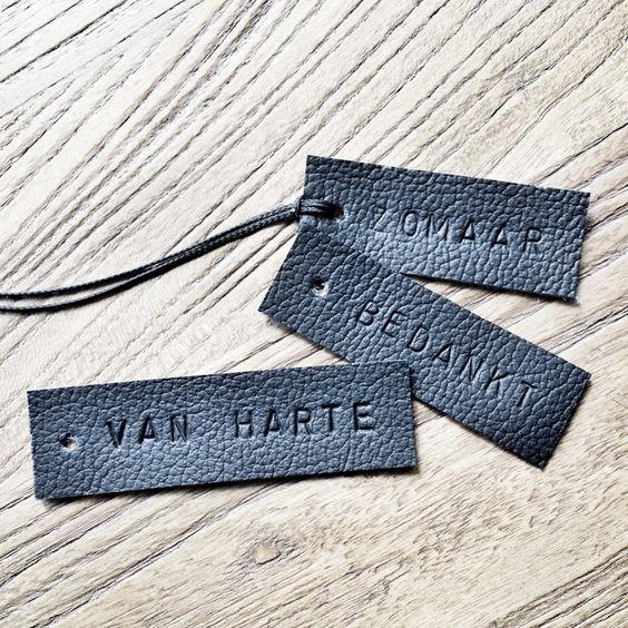 Cadeau label