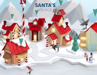 Track Santa as he heads to your town this Christmas!
