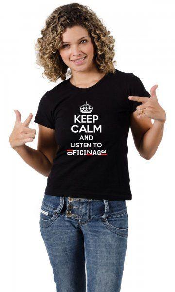 Camiseta Oficina G3 - Keep Calm por apenas R$37.50