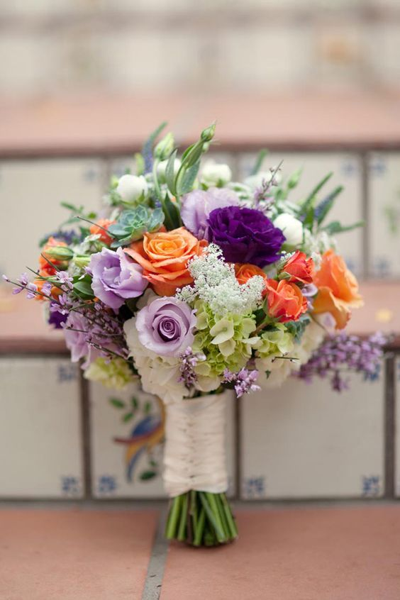 Top 20 Gorgeous Purple Wedding Bouquet Ideas