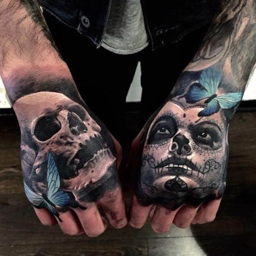 101 Best Hand Tattoos For Men Cool Design Ideas 2020 Guide Hand Tattoos For Guys Skull Hand Tattoo Hand Tattoos