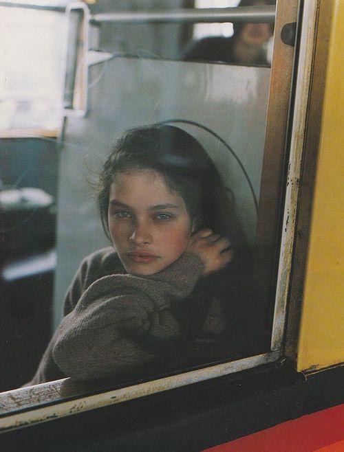 "80s-90s-supermodels: "" Jigsaw A/W 1996/'97 Photographer : Juergen Teller Model : Lonneke Engel "":"