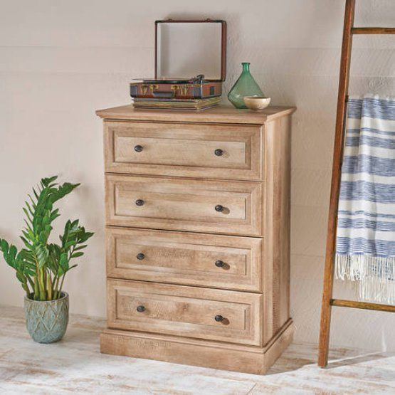 Better Homes And Gardens Crossmill 4 Drawer Chest Weathered Storage Furniture Bedroom Wooden Bedroom Dresser Drawers