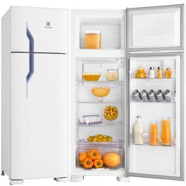 (Ricardoeletro.com) Refrigerador Geladeira Electrolux Cycle Defrost 2 Portas 260 Litros Branco - DC35A DC35A 311463 - de R$ 1569 por R$…