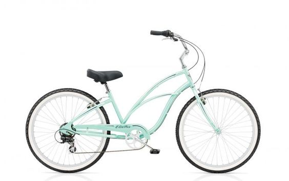 Remember fun? Imagine where you could go on a CRUISER 7D by Electra--available in purple, blue, black, mint, pink, white, white, mint, pink. Explore the wide variety of stylish, creative designs and find the perfect Cruiser to suit your individuality and imagination.