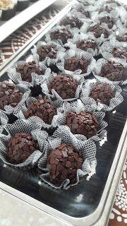 Fadinha na Cozinha: Docinhos de biomassa - Brigadeiro