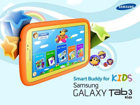 galaxy-tab3-kids by Specialtech Octavio Gonzalez via Slideshare