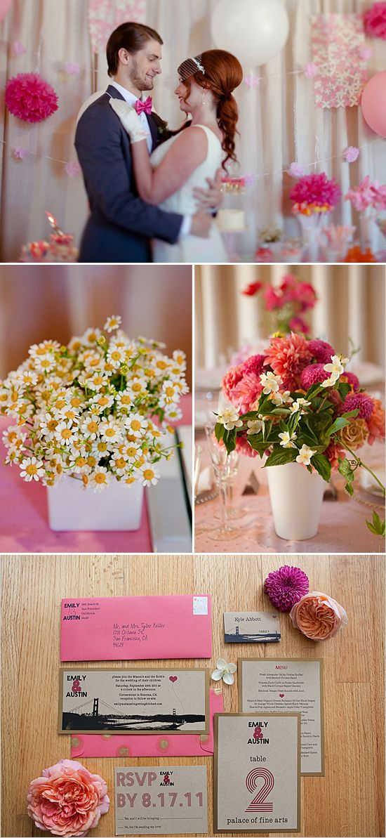 Lovin' the flower arrangements/