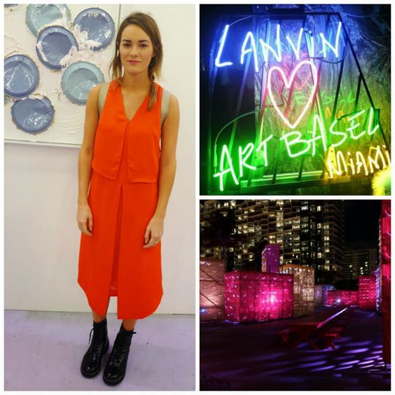 Take My Breath Away: ART BASEL in MIAMI BEACH http://www.clubfashionista.com/2013/11/take-my-breath-away-art-basel-in-miami.html  #art #parties #fashion #MiamiBeach #ArtBasel #ClubFashionista #Lanvin #streetstyle