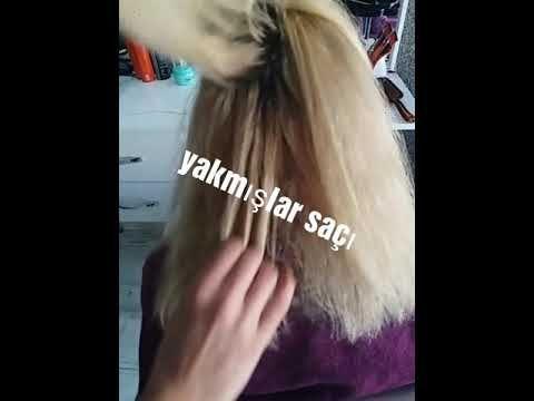 Ombre Ust Duzey Bebek Kumrali Nasil Yapilir Baby Blonde Youtube