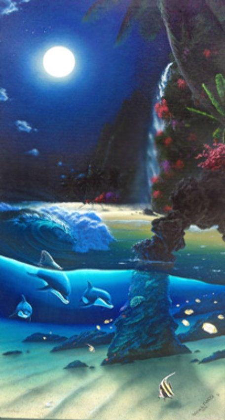 Island Paradise 1996 by Robert Wyland
