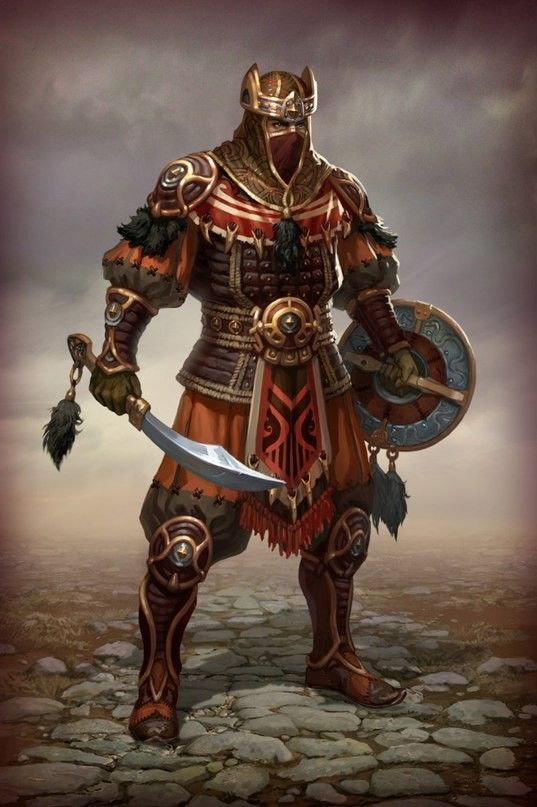 Falcon Knight Fantasy Art