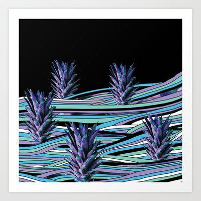 Paradise Island Art Print by Floorb - $17.68