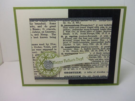 Stampin' Up Handmade Father's Day Card by donnainksLa on Etsy, $4.00