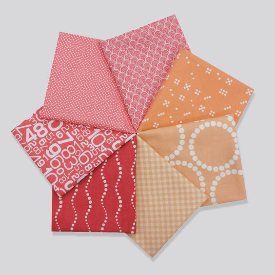 Peachy Path  - Blogger Bundle by Mary Catherine [baby quilt]