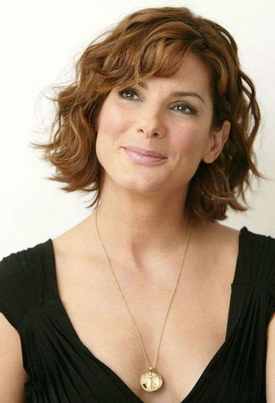 Short Wavy Hairstyles For Older Women More