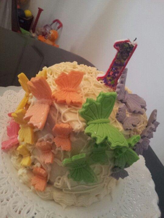 Pastel hecho por mi para mi princesa