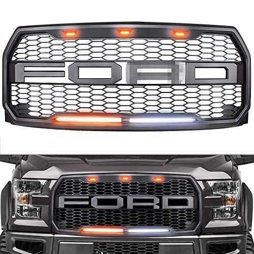 Raptor Style Grille For 2015 2017 Ford F150 Replacement Raptor