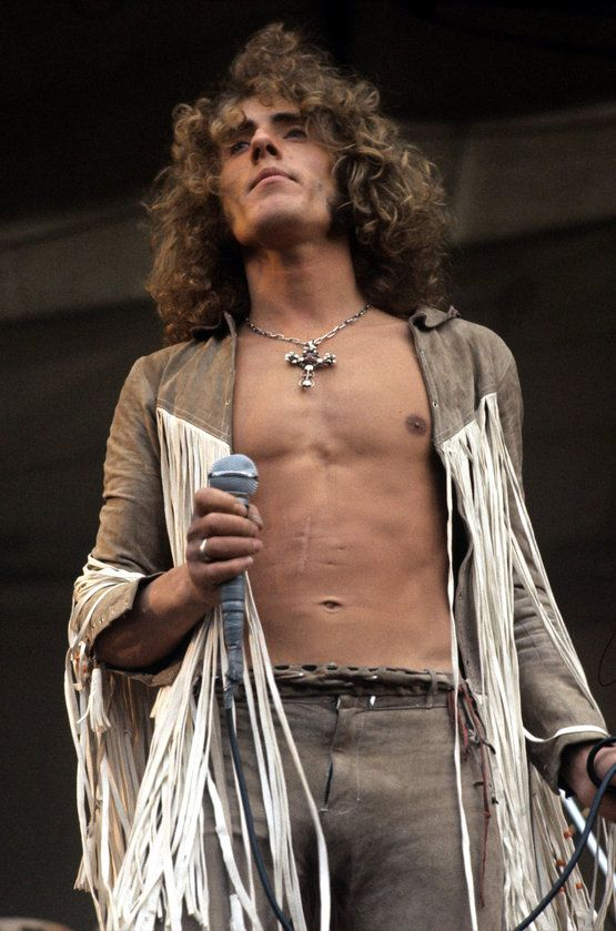 """Awww yeah Roger Daltrey!!! Only 5'6"""" yet smokin' hot!! AND DON'T EVEN GET ME…"""