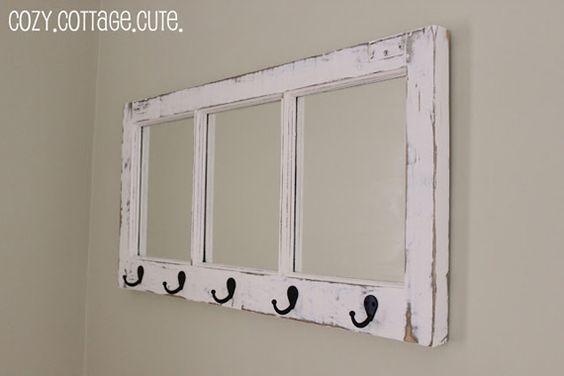 Decorar con viejas ventanas de madera II