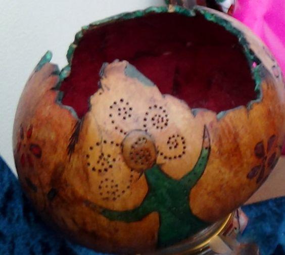 Gourd Art... Spirit Calling....