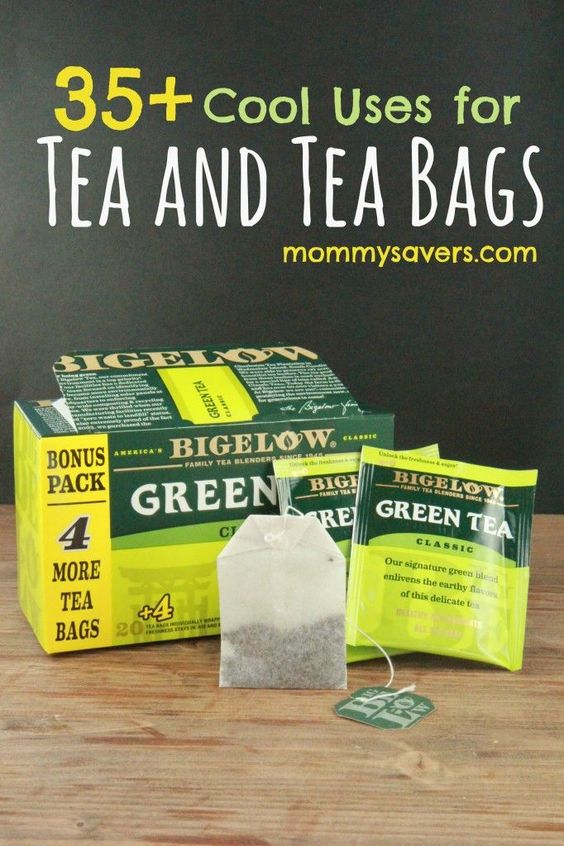 Uses for tea bags and leaves 35 clever ideas tea teabags another use for pinterest - Uses for tea bags ...