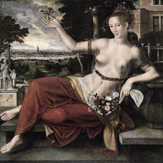 Jan Massijs - Flora  - Hamburger Kunsthalle –
