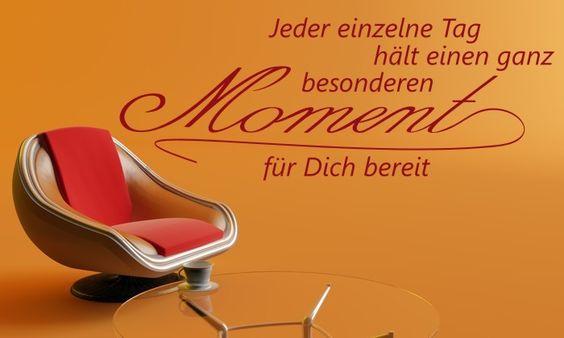 Wandtattoo aus der Kategorie Sprichwörter, von www.klebe-monster.de