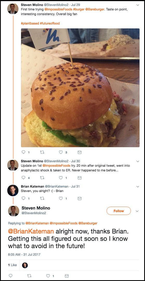 Gmo Impossible Burger Tests Positive For Glyphosate Impossible Burger Food Burger