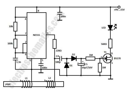 water softener wiring schematic power indicator for the water softener circuito electr  nico  power indicator for the water softener