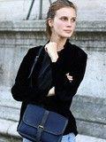 # La jeune et très jolie Marine Vacth, Paris